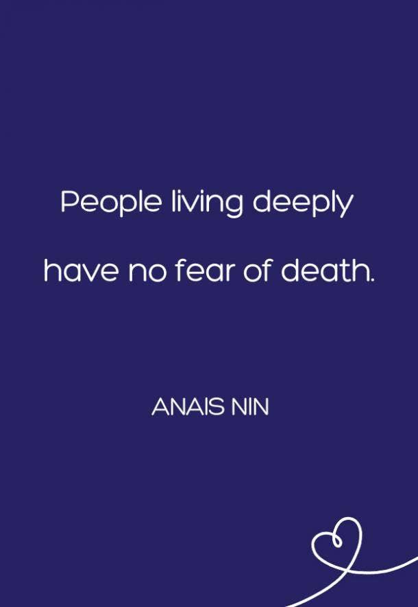 Anais Nin Fear Quote