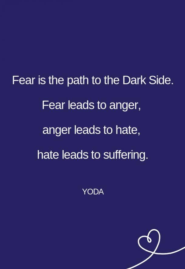 Yoda Fear Quote