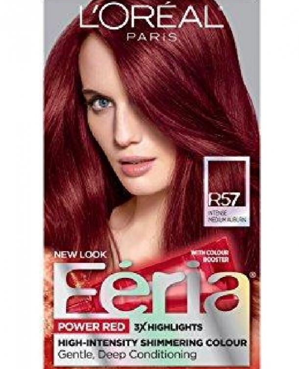 Feria Power Reds in Auburn/Cherry Crush by L'Oreal