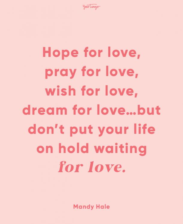 mandy hale finding love quotes