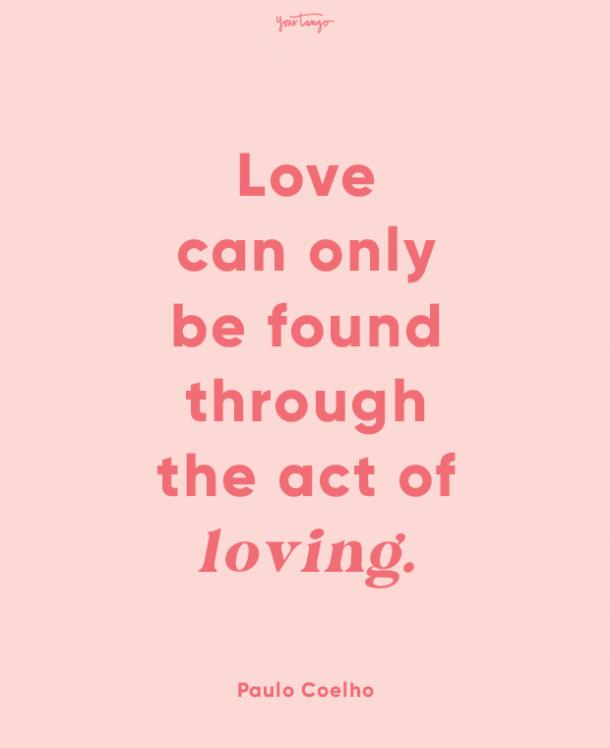 paulo cohelo finding love quotes