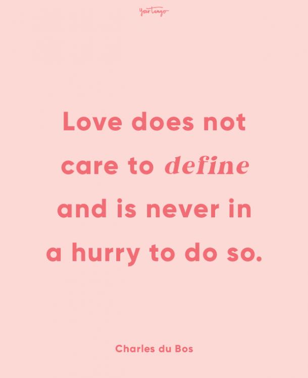 charles du bos finding love quotes