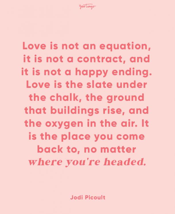 jodi picoult finding love quotes