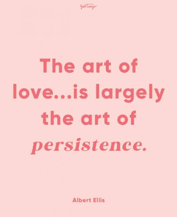 albert ellis finding love quote