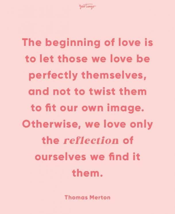 thomas merton finding love quotes