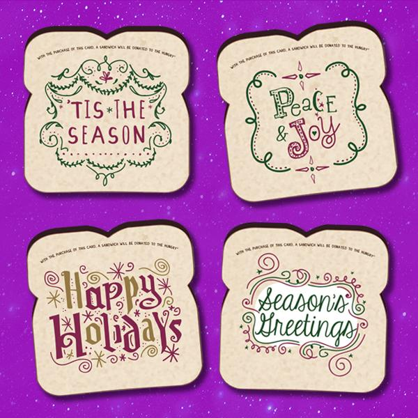 Food for Thoughts Holiday Cards