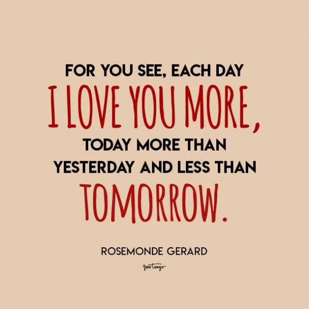 Rosemonde Gerard i love you quote