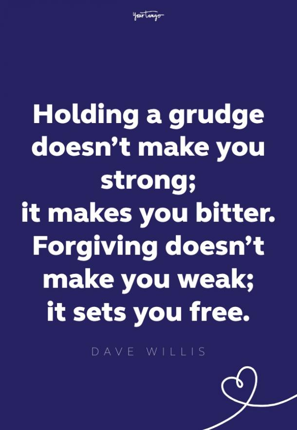 dave willis forgiveness quote