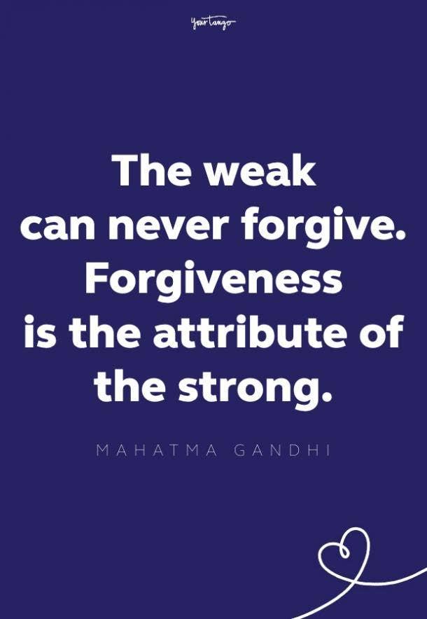 mahatma gandhi forgiveness quote