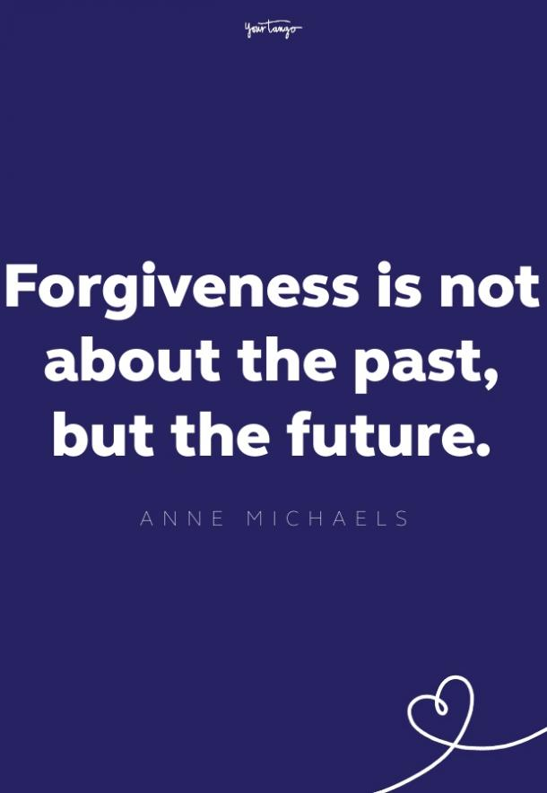 anne michaels forgiveness quote