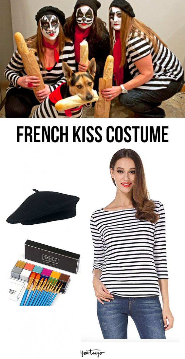 french kiss last minute halloween costumes