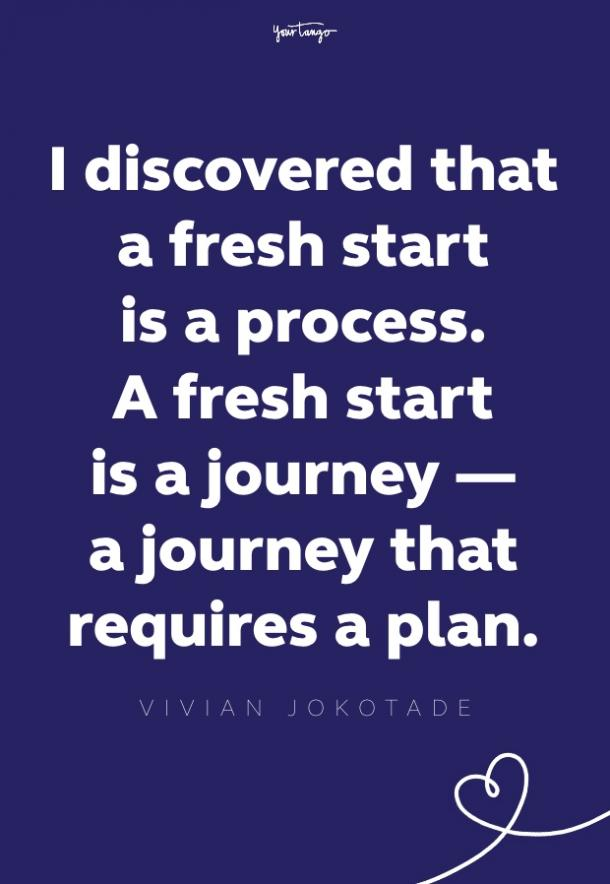 vivian jokotade fresh start quote