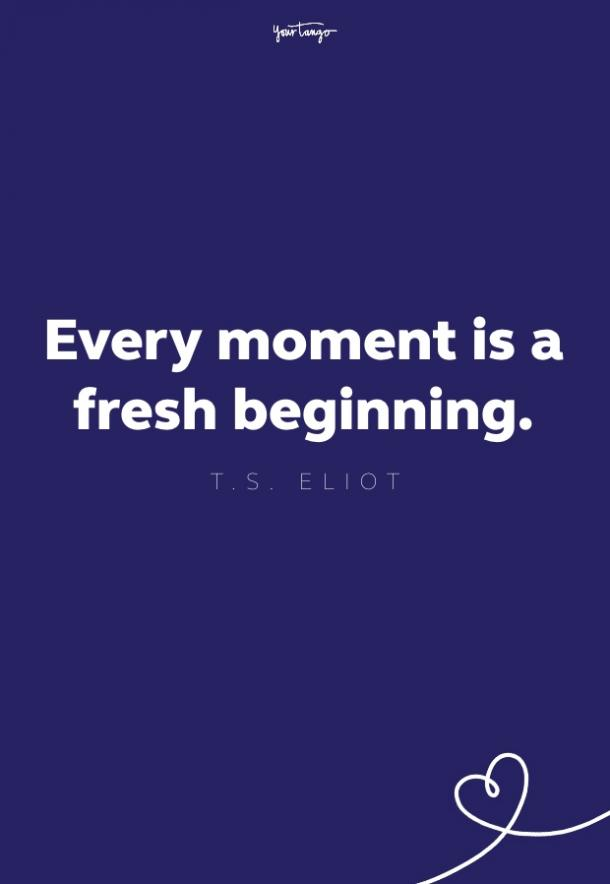ts eliot fresh start quote