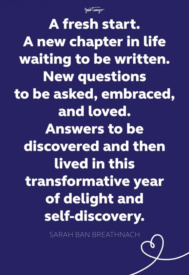 sarah ban breathnach fresh start quote
