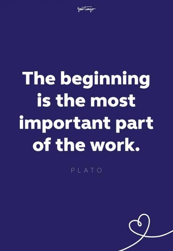 plato fresh start quote
