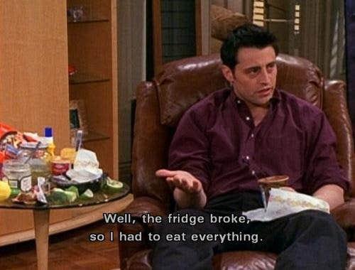 joey tribbiani friends tv show quote