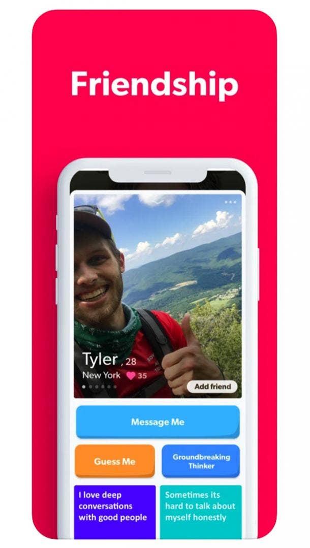 Friended app