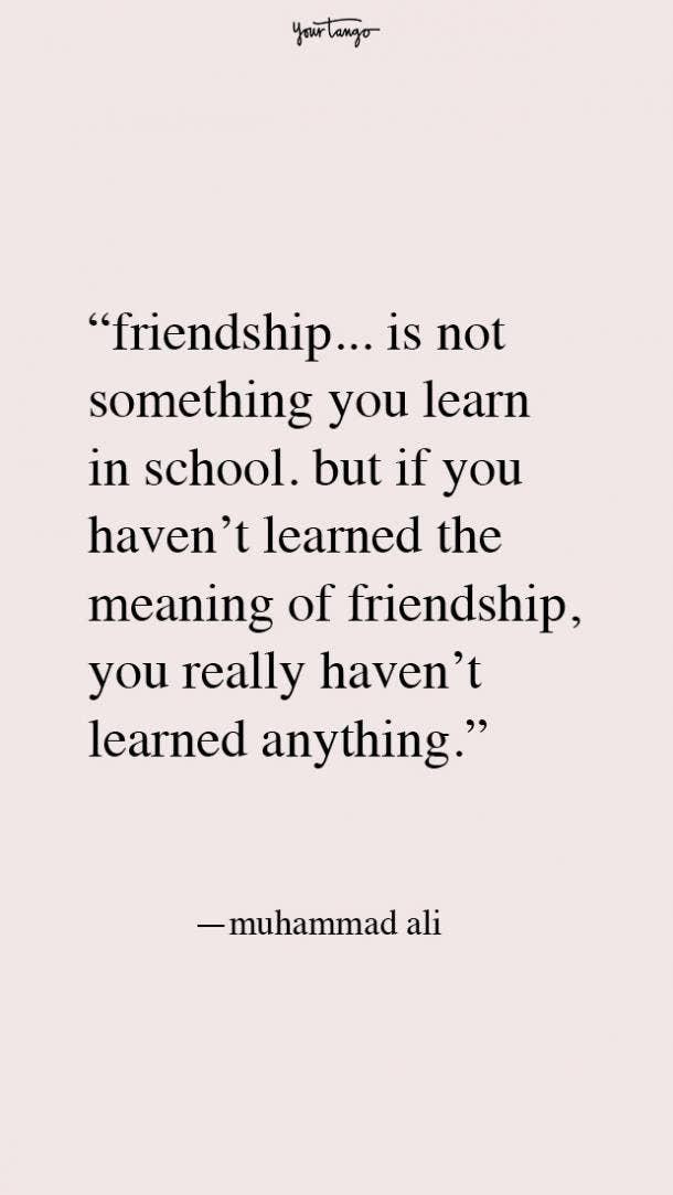 Muhammad Ali best friend fight quotes