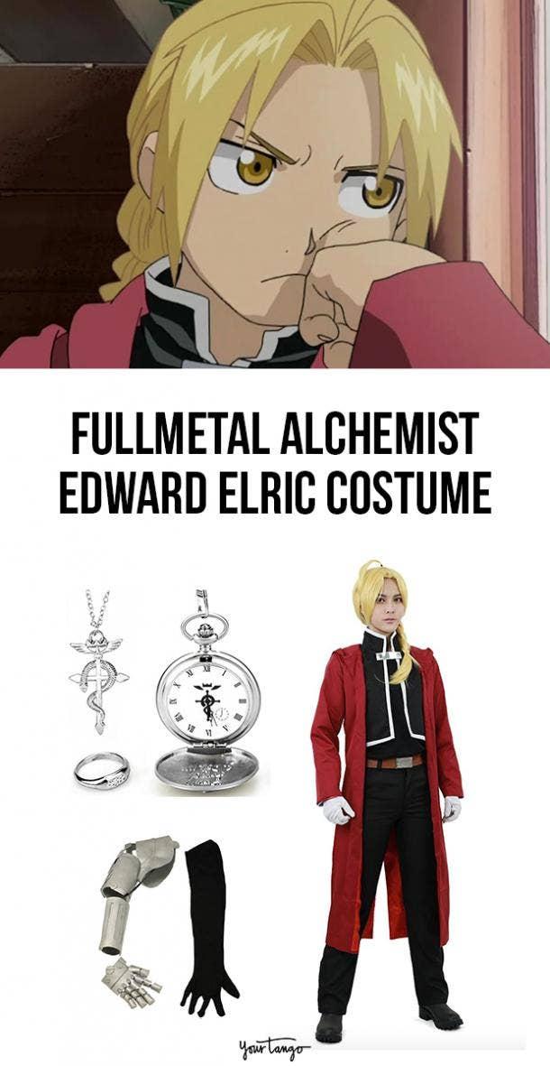 Edward Elric Fullmetal Alchemist Standard Halloween Costume
