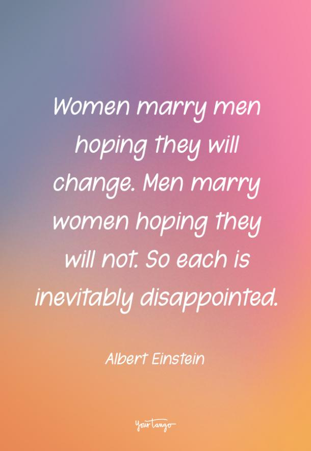 Albert Einstein funny love quote