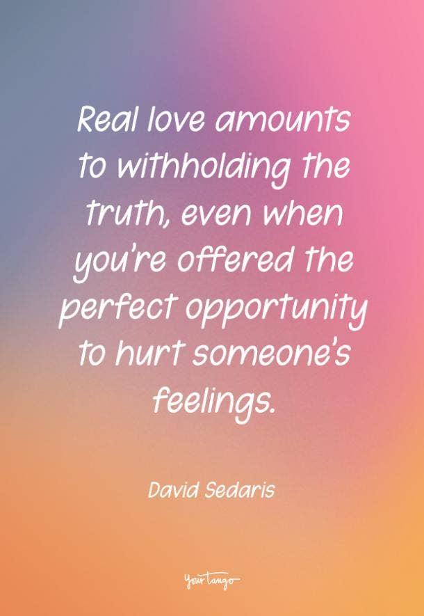 David Sedaris funny love quote