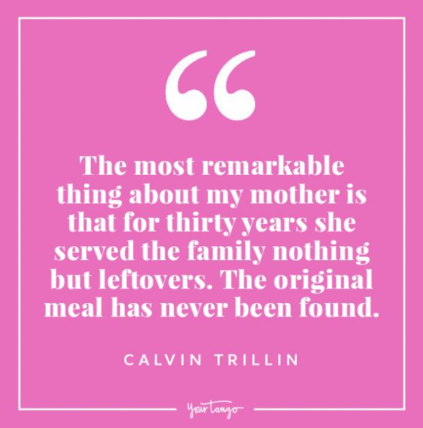 Calvin Trillin funny mothers day quotes