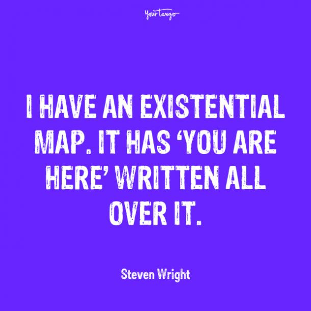 steven wright over it quotes