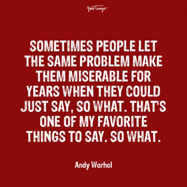 andy warhol over it quotes