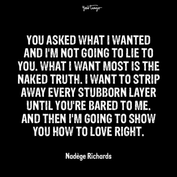 nadege richards over it quotes