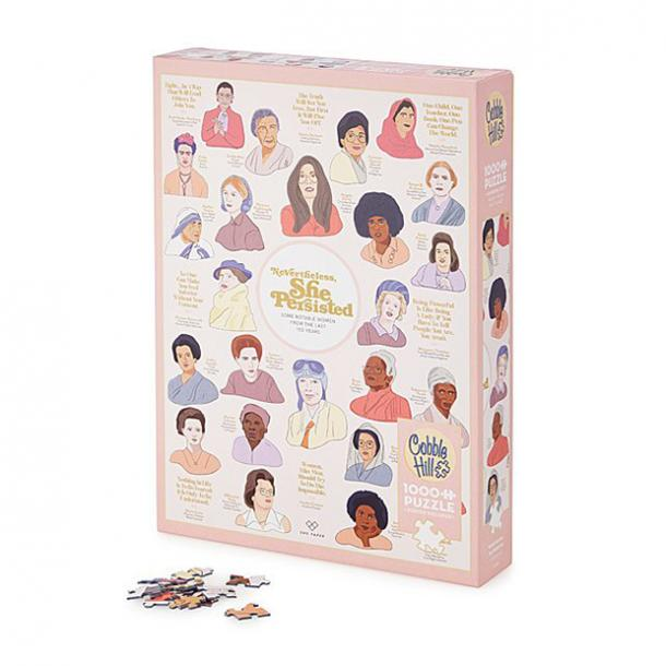 'Nevertheless, She Persisted' Puzzle