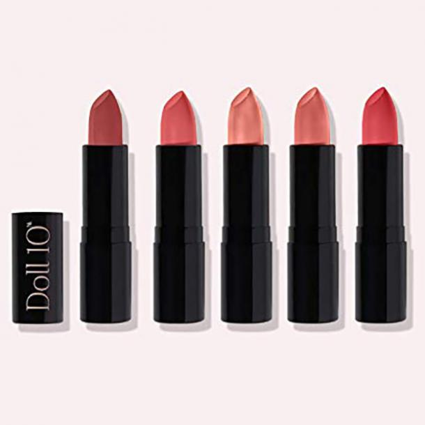 Doll 10 Endless Kisses 5-Piece Lip Rouge Collection