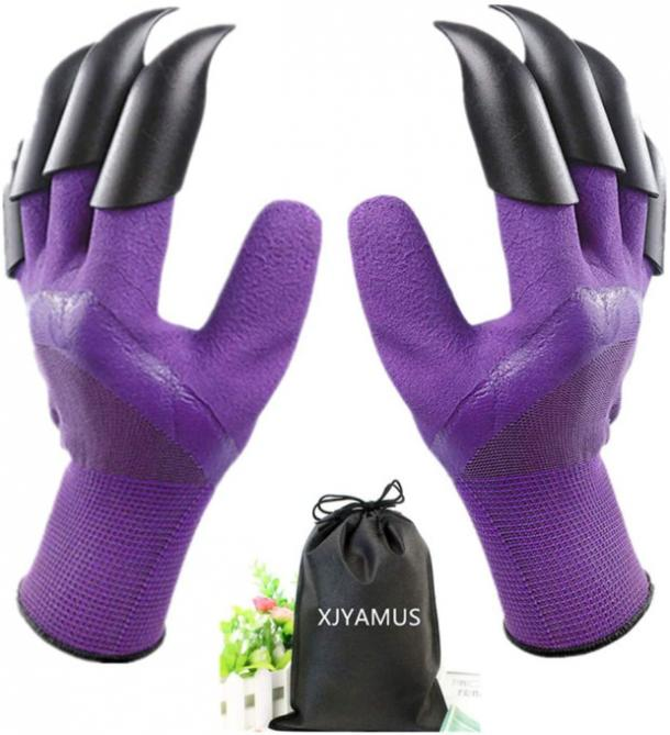 Waterproof Garden Gloves with Claws mothers day gift for girlfriend