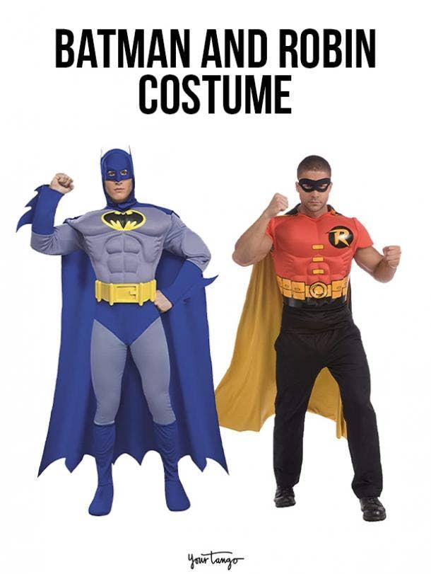 gay couple halloween costumes Batman and Robin