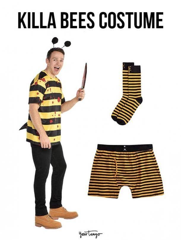 gay couple halloween costumes killa bees
