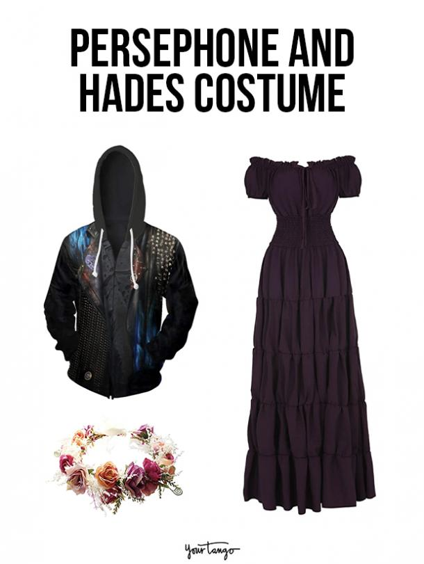 gay couple halloween costumes Persephone and Hades