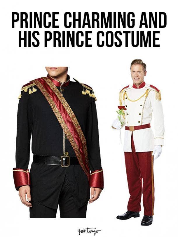 gay couple halloween costumes Prince Charming and His Prince