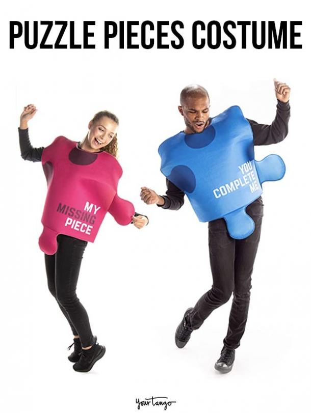 gay couple halloween costumes puzzle pieces