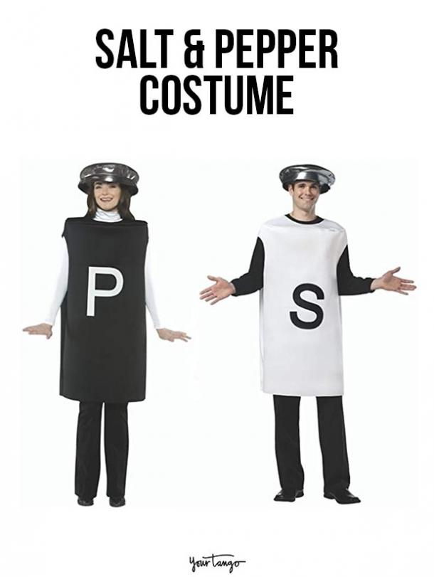 gay couple halloween costumes Salt and Pepper