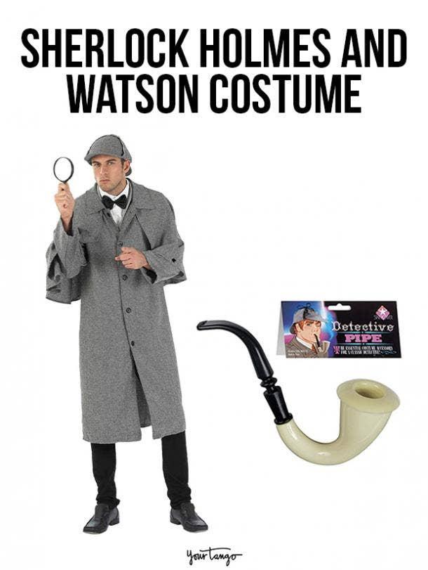 gay couple halloween costumes sherlock holmes and watson