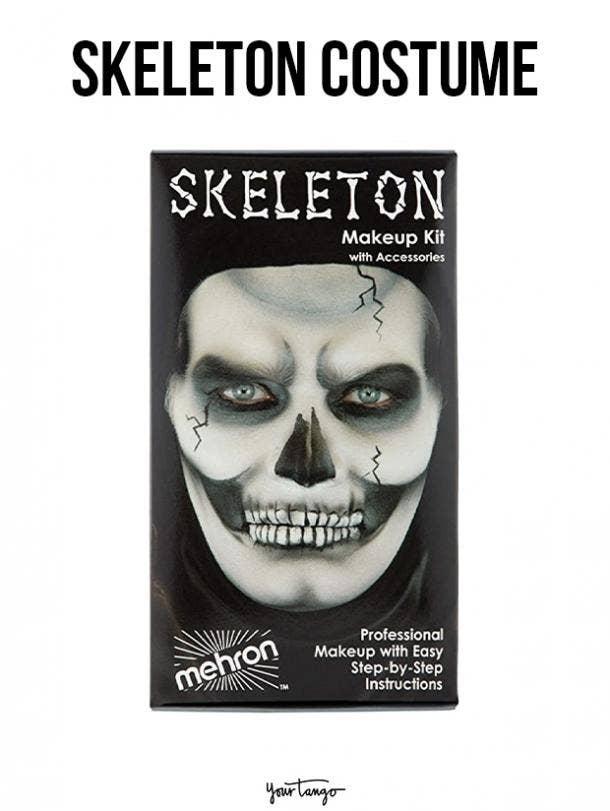 gay couple halloween costumes Skeletons