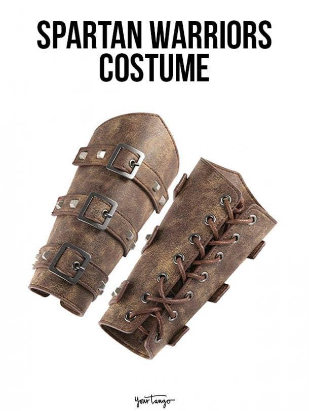 gay couple halloween costumes spartan warriors