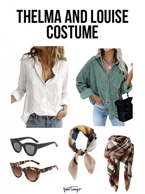 gay couple halloween costumes Thelma and Louise