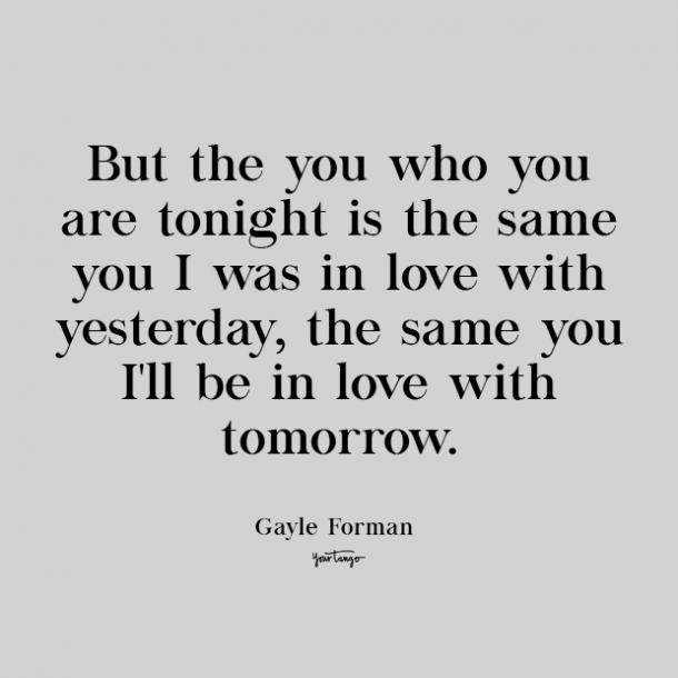 gayle forman cute love quote