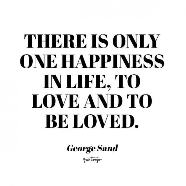 george sand romantic quotes