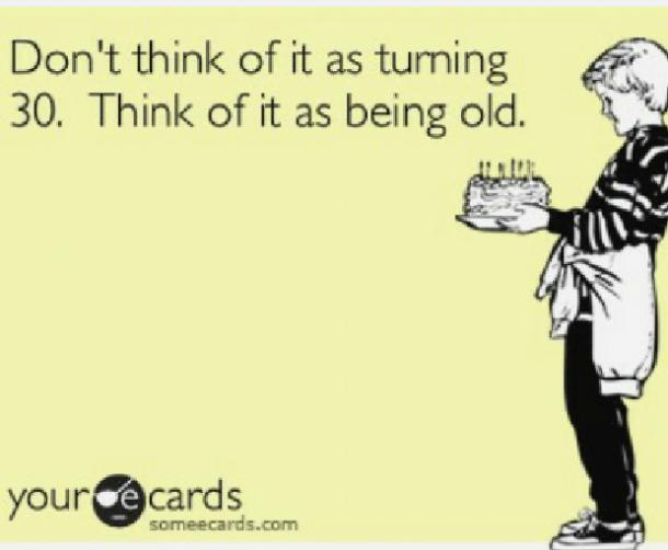 30 Funny Happy 30th Birthday Memes Turning 30 Jokes Yourtango