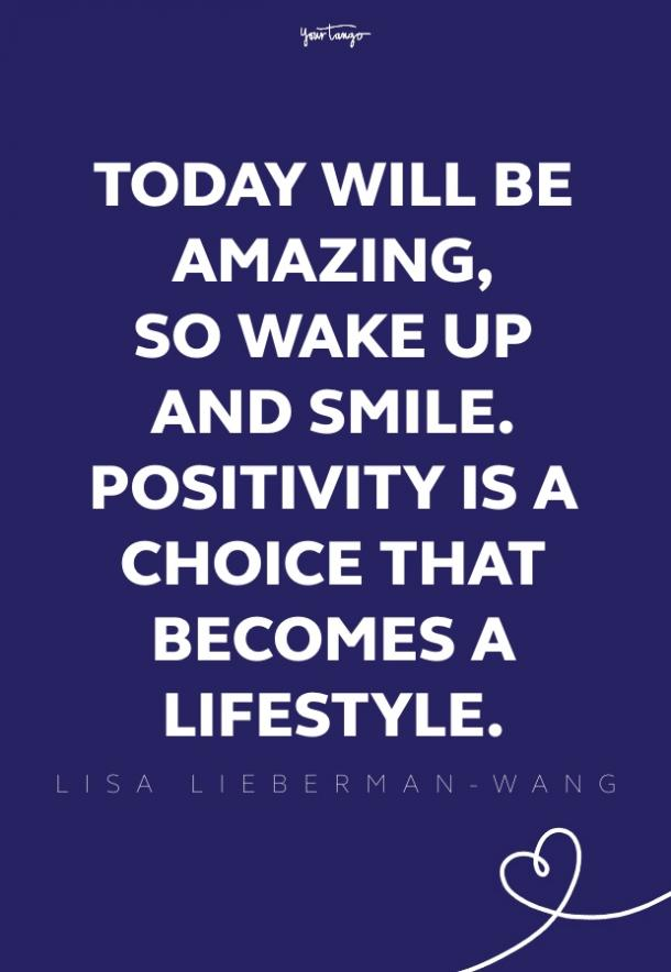 Lisa Lieberman-Wang good morning quotes