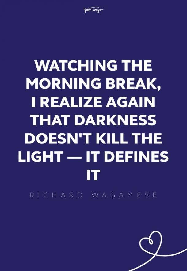 Richard Wagamese good morning quotes