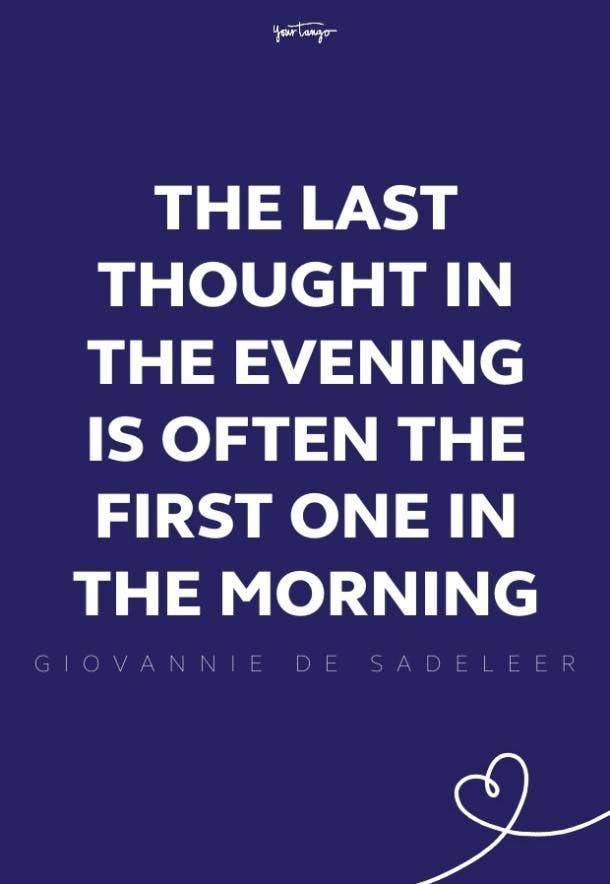 Giovannie de Sadeleerv good morning quotes