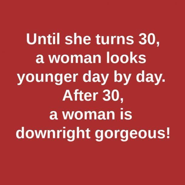 gorgeous 30th birthday meme