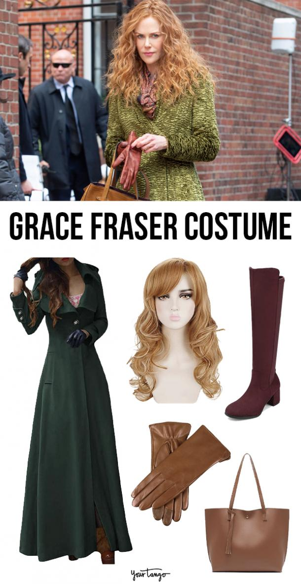 """Grace Fraser's """"The Undoing"""" Green Coat Inspired Costume"""